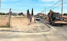 Comienzan los trabajos para mejorar los accesos al colegio Vista Alegre