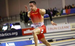 Sergio López, primer atleta murciano en competir en la Diamond League