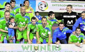 ElPozo, a levantar el trofeo talismán del Inter Movistar
