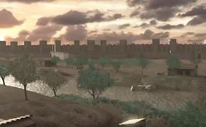 Tres itinerarios guiados por la muralla árabe permitirán recrear la Edad Media