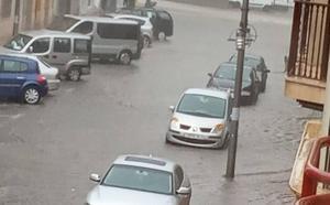 La Aemet mantiene la alerta en el norte de la Región tras una noche de lluvias generalizadas
