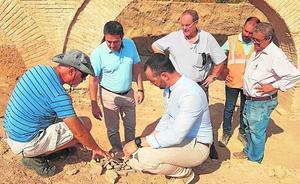 Las obras junto al museo de Alcantarilla sacan a la luz nuevos hallazgos