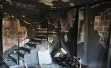 Segundo incendio, en dos meses, de una casa okupa en Beniaján