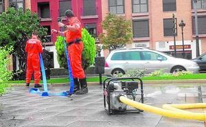 Protección Civil realizó hasta diez achiques de agua en Caravaca