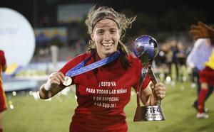 La yeclana Eva Navarro, muy cerca del Real Madrid