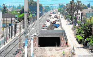 La Consejería propone adelantar el AVE utilizando el primer tramo soterrado