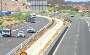 La 'autovía del bancal' se hunde por «un problema geotécnico»