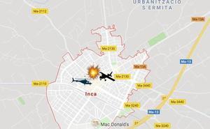Cinco muertos tras chocar dos aeronaves en Mallorca