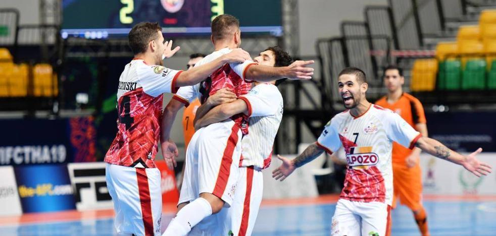 ElPozo Murcia se pasea en su estreno en la Copa Intercontinental