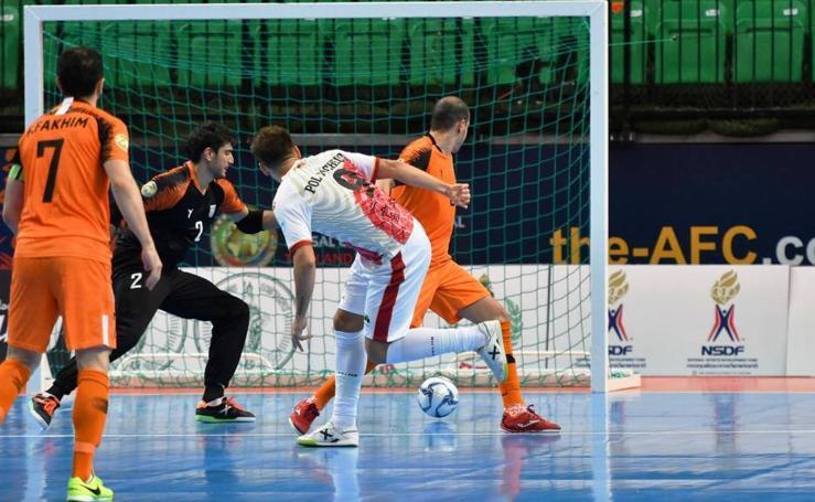 ElPozo Murcia se pasea en su estreno en la Copa Intercontinental (0-7)