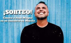 Sorteo: Consigue uno de los 5 pases 'meet and greet' para el concierto de Juan Magán en Murcia