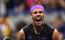 Nadal, a semifinales con sustos