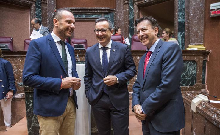 Los portavoces de PP, PSOE y Cs defenderán en el Congreso la eliminación de los aforamientos en la Región