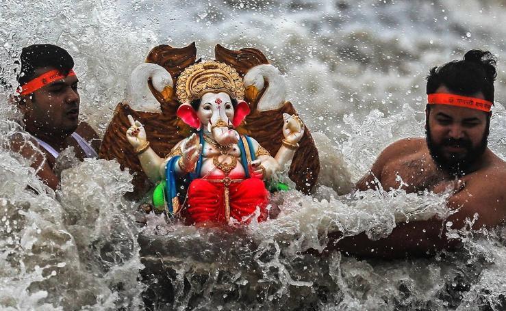 El baño de Ganesha