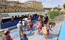A la Feria en un barco gratuito