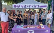 Seis 'puntos violeta' instalados en la Feria de Murcia 2019 protegerán de la violencia sexista