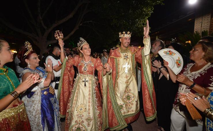 Moros y Cristianos de Murcia abren boca a su fiesta en la cena medieval