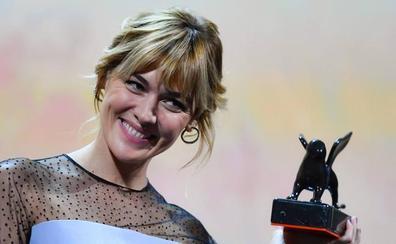 La murciana Marta Nieto, mejor actriz de la sección 'Horizontes' en Venecia
