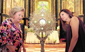 El legado de la Orden franciscana a la Virgen de las Huertas