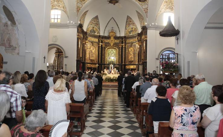 La patrona de Lorca celebra su día grande en el 75 aniversario de su coronación