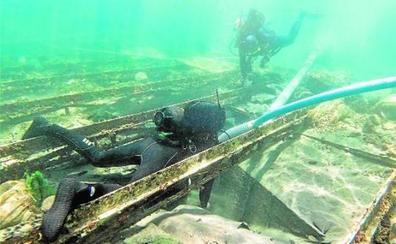 La comisión aconseja el rescate del barco fenicio de Mazarrón «en los próximos meses»