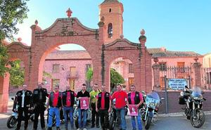 Los moteros peregrinos de Santa Eulalia