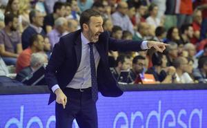 Sito Alonso avisa a sus jugadores de que deben «respetar las reglas y los roles» del equipo