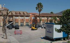 Los colegios de Lorca mantienen 6.000 m2 de amianto en sus cubiertas