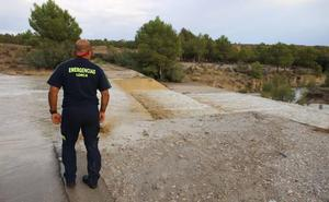 Las tormentas irrumpen en zonas de Lorca, Mula y Totana