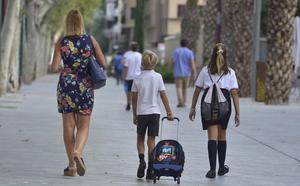 Al colegio, mejor caminando