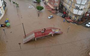 La Aemet prevé fuertes vientos este miércoles e intensas lluvias para el jueves en la Región