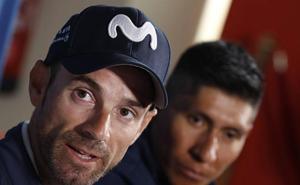 Valverde: «El podio sería un gran premio»
