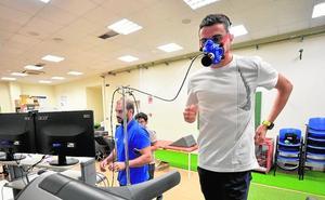 Mariano García ultima su puesta a punto antes del Mundial de Doha
