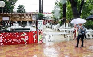 Las previsiones meteorológicas obligan a modificar el programa de la Feria de Murcia