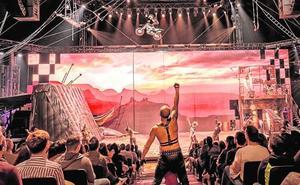 El 'show' más brutal del Circo de los Horrores se instala en Cartagena hasta el día 22
