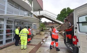 La Cruz Roja habilita 898 plazas de albergue para atender a vecinos afectados por el temporal