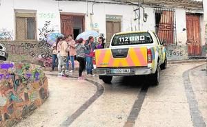 Desalojos en Cieza por riesgo de derrumbes