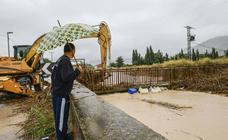 La DANA inunda pedanías, desborda el río Segura y causa estragos por todo el municipio