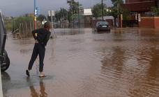 Inundaciones en Cartagena y Los Urrutias