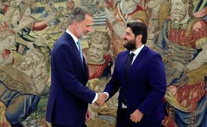 El Rey llama a López Miras para interesarse por los daños del temporal