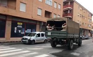 El Gobierno incrementa los efectivos del Ejército que prestan apoyo en la Región