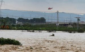 Hallan en Orihuela el cadáver de un hombre, quinta víctima del temporal