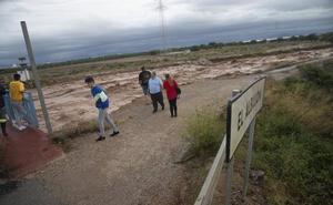 Asaja califica de «desastrosas» las consecuencias de la gota fría para el campo murciano