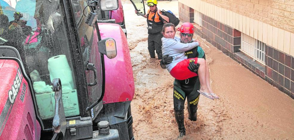 «Los bomberos me sacaron en andas»