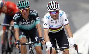 Valverde acaba «encantadísimo con este podio» en la Vuelta