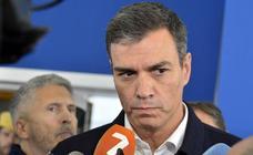 Pedro Sánchez dice que el Ejecutivo «no va a escatimar» recursos para ayudar a los afectados