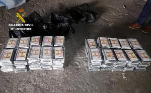 Interceptado en Lorca un camión con 127 kilos de cocaína oculta en pieles de animal