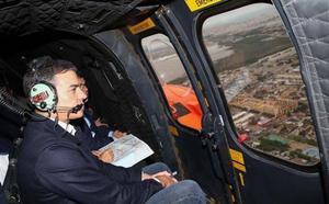 Sánchez visita las zonas afectadas por la DANA: «No vamos a escatimar en recursos»