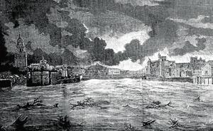 Una histórica campana sobre el Puente Viejo