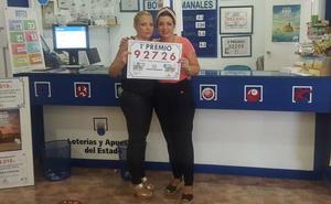Una administración de lotería de Torreagüera reparte dos premios mayores en 10 días
